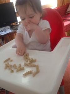 Garlic mushroom pasta :)
